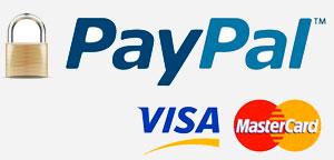 Métodos de Pago Seguro QdRegalos: Paypal, Visa, Mastercard y Transferencia Bancaria